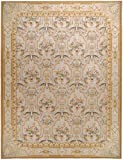 "14'x28' Handmade Chinese Aubusson Collection ""Savoie Design"" Wool Rug"
