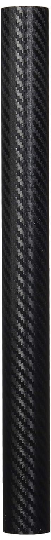 "F & B LED LIGHTS 3D Carbon Fiber Film Twill Weave Vinyl Sheet Roll Wrap (12"" X 60"", Black)"