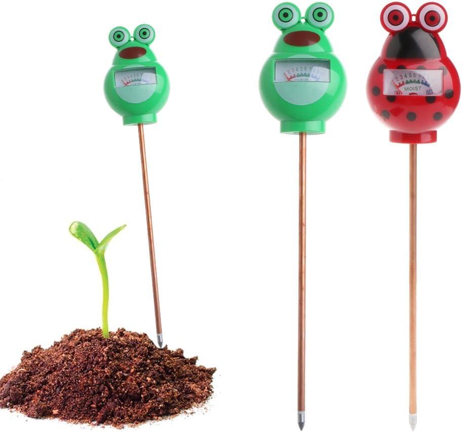 Yoking Feuchtemessger/ät Frosch Feuchtigkeitsmessger/ät Bodenfeuchtigkeitstester Blumen Gras Pflanzen Garten Bauernhof Rasen Gr/ün