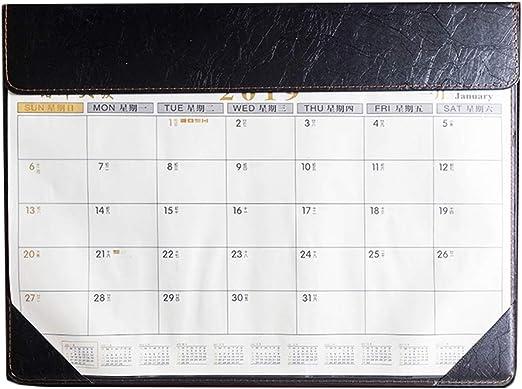 Calendario de Escritorio 2019 Calendario de Escritorio Grande ...