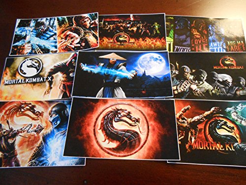 9 Mortal Kombat inspired Stickers, Decals,