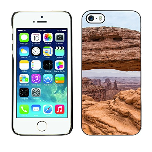Premio Sottile Slim Cassa Custodia Case Cover Shell // F00007559 paysage // Apple iPhone 5 5S 5G