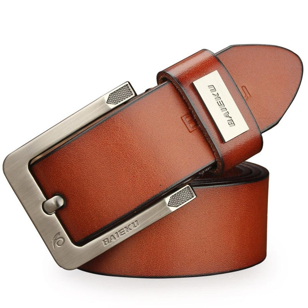 Brown DONG New men's belt casual men's belts