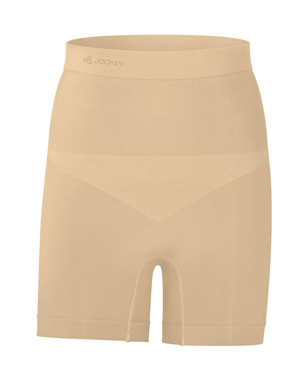 Jockey Seamless Shapewear High-Waist Short Iced Frappe Size S