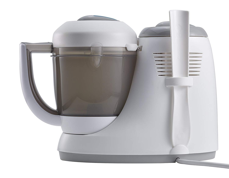Gris//Bleu B/éaba BABYCOOK ORIGINAL UK IMPORT Robot Cuiseur Vapeur//Mixeur 4-en-1