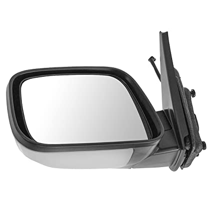 Chrome /& Black Power Side View Door Mirror Left LH Driver for 06-11 Chevy HHR