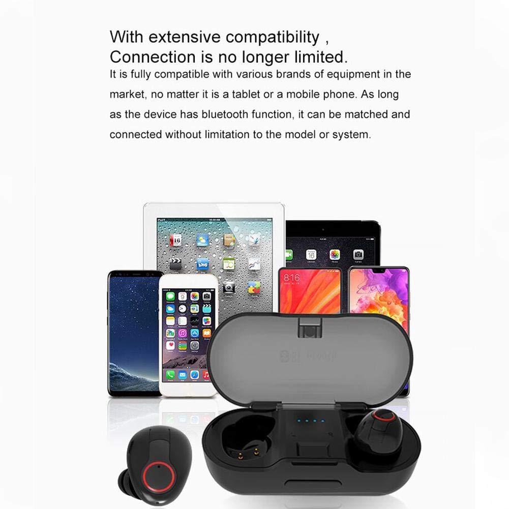 IrahdBowen Auriculares Auriculares Bluetooth 5.0 Wireless IPX5 Auriculares Bluetooth Impermeables: Amazon.es: Electrónica