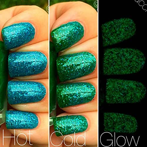 Amazon Mermaid Blue To Green Color Changing AND Glow In The