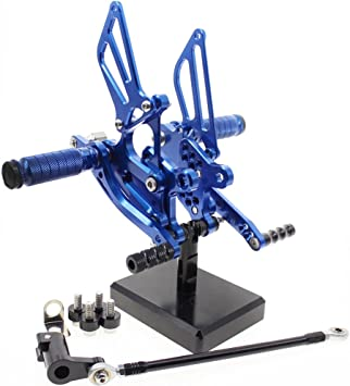 For YAMAHA YZF R1 1998-2003 2002 2001 FXCNC CNC Adjust Rearsets Rearset Footpegs