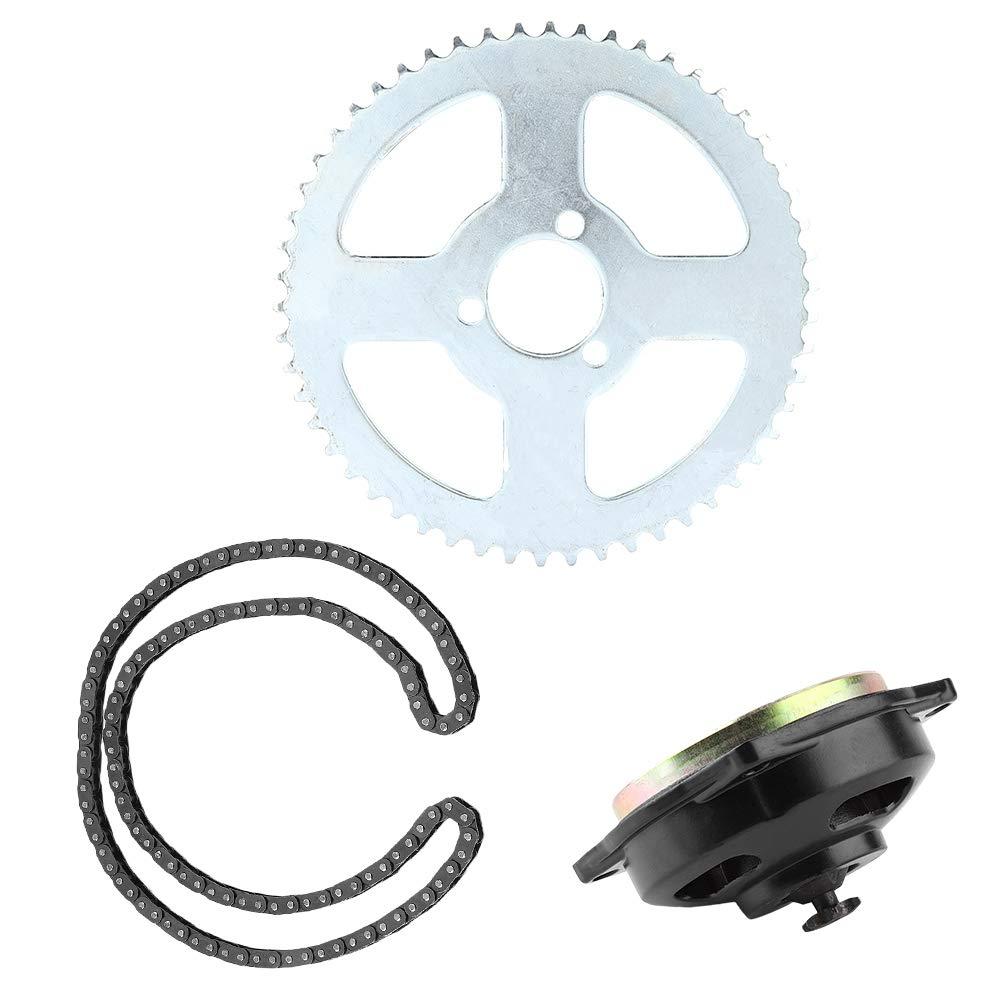 Antriebssystem T8F Kette /& 6T Getriebe /& Kettenrad Kit f/ür Minimotorrad 47ccm 49ccm Motorrad Yctze Motorrad Kettenrad Kit