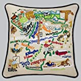 Catstudio Vermont Pillow * Original Geography Collection