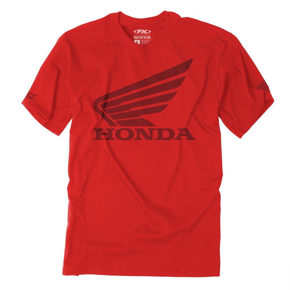 Factory Effex Unisex-Adult Honda Big T-Shirt Red XX-Large