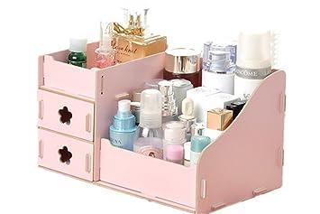 Fashion creative diy ufficio scrivania scatole lady in legno