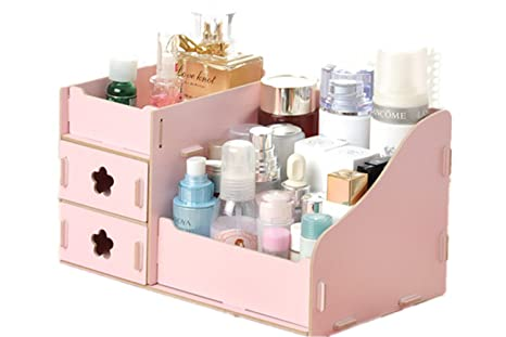 Scrivania Ufficio Organizzata : Fashion creative diy ufficio scrivania scatole lady in legno