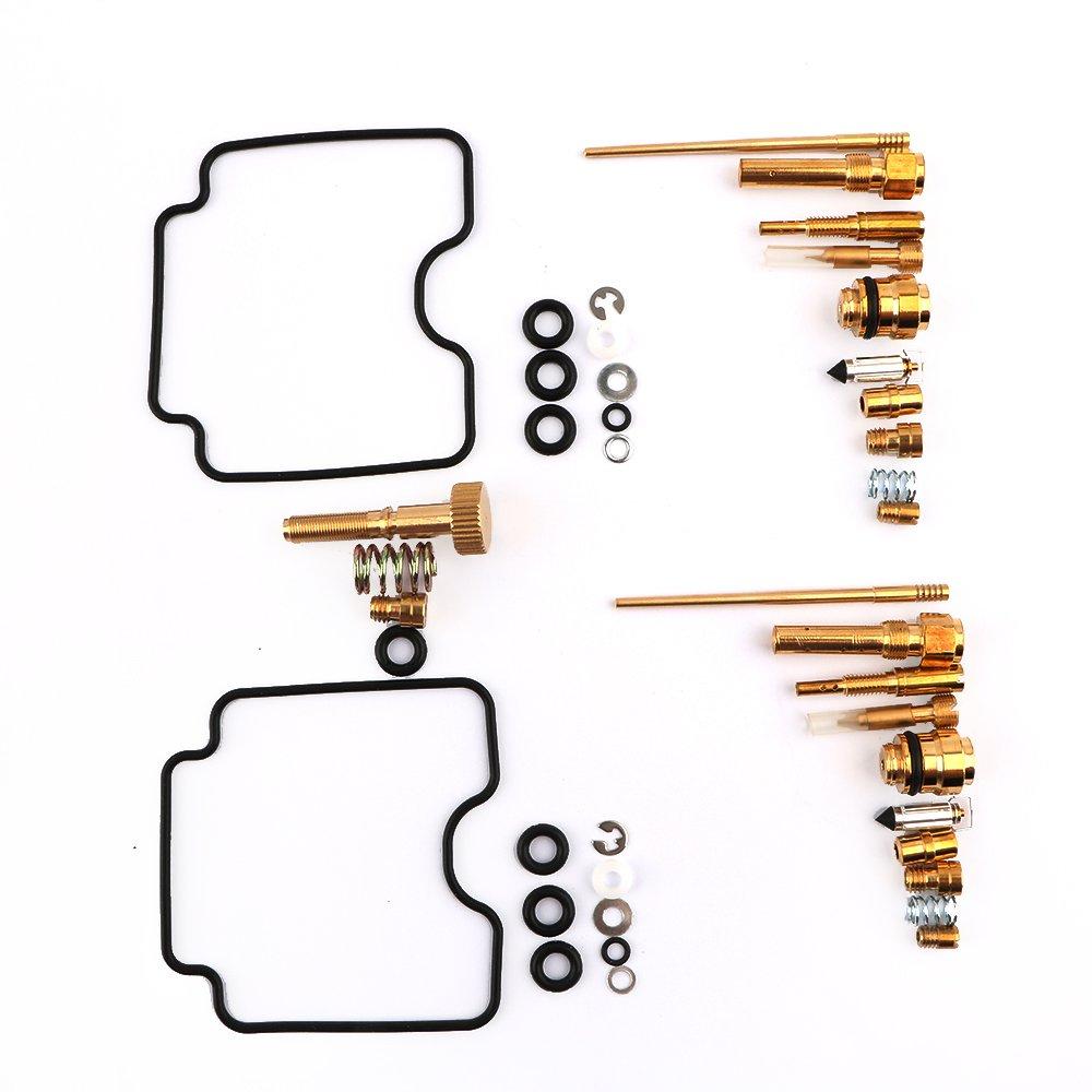 Carburetor Rebuild Kit Carb Repair for Yamaha Raptor 660 660R Carb Kit YFM660R 2001 2002 2003 2004 2005 By Mopasen