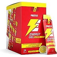 Prozis 24 x Energy Gel + Caffeine 25 g Limón