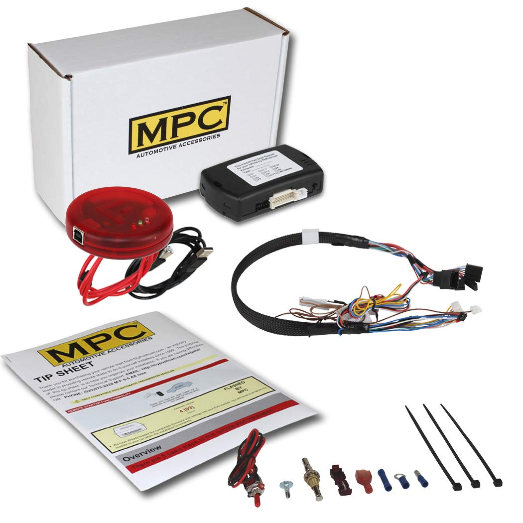 MPC Plug-n-Play Factory Remote Activated Remote Start Kit for 2010-2018 Chevrolet Cruze - T-Harness - w/FLASHLINK UPDATER