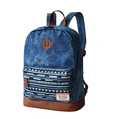 Amazon.com | Domila Classic Casual Canvas School Bookbags ...