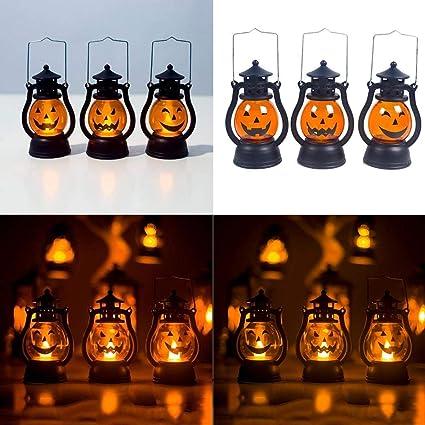 Amazon.com: OYTRO lámpara colgante de calabaza para fiesta ...
