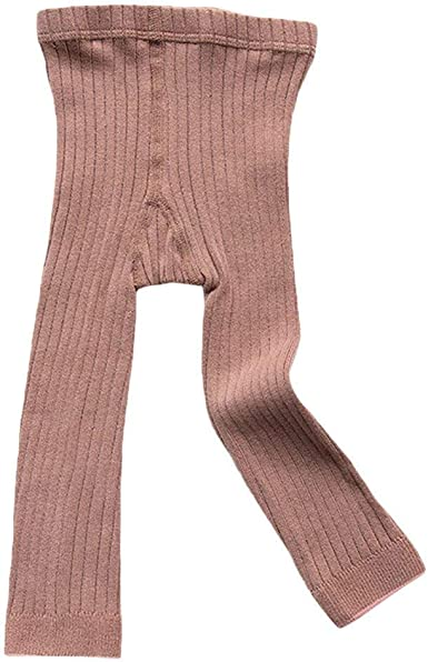 3 Pack Girls Toddler Baby Basic Ribbed Sweater and Leggings Footless Tights Kids Little Girls Dress Bottom Top Pants