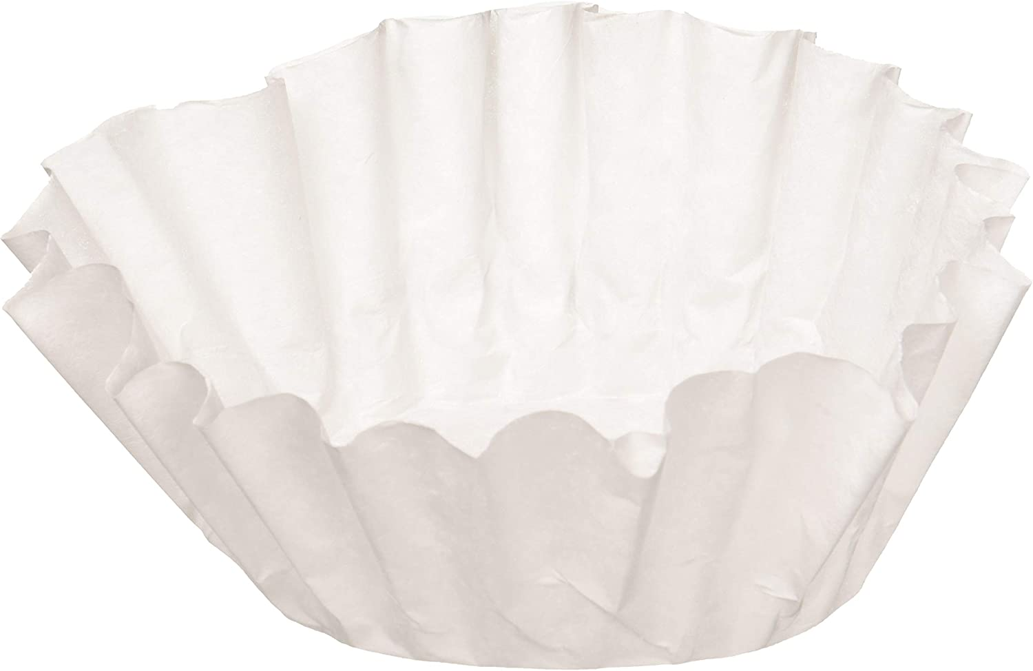 BUNN 6001 12-Cup Commercial Coffee Filters, 500-count, White 61tQrfKYCdL
