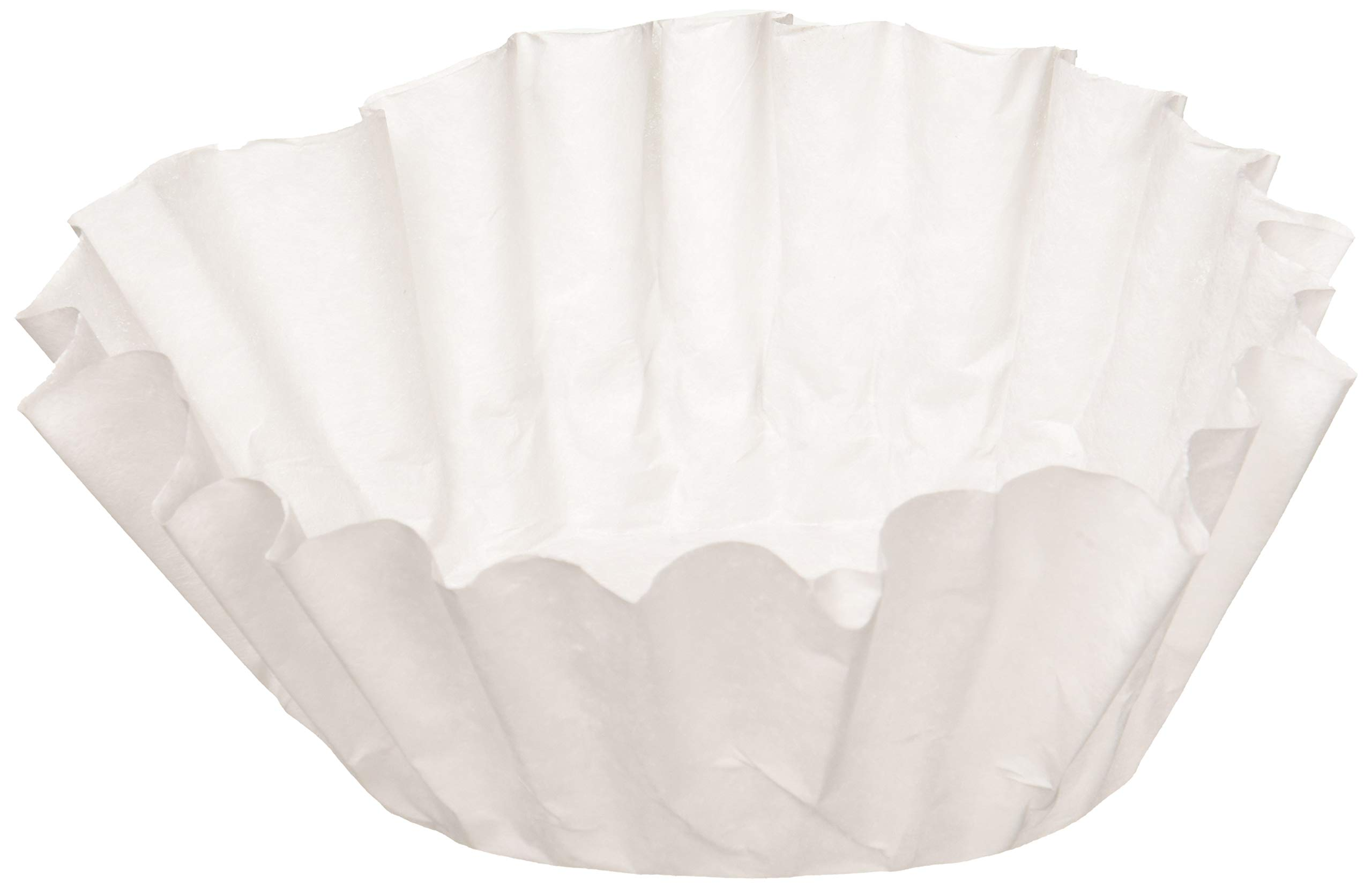 BUNN 6001 12-Cup Commercial Coffee Filters, 500-count, White by BUNN