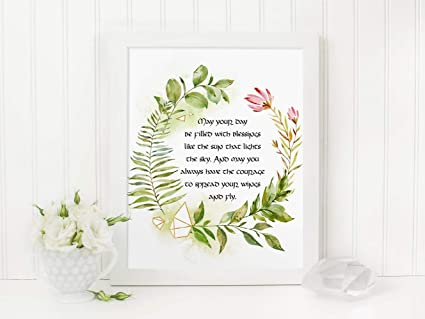 image relating to Printable Irish Blessing called : MalertaART Irish Blessing Printable Might Your Working day