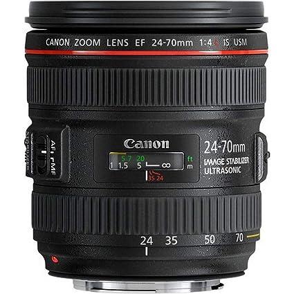 Canon EF 24-70mm f/4L IS USM - Objetivo para Canon (Distancia ...
