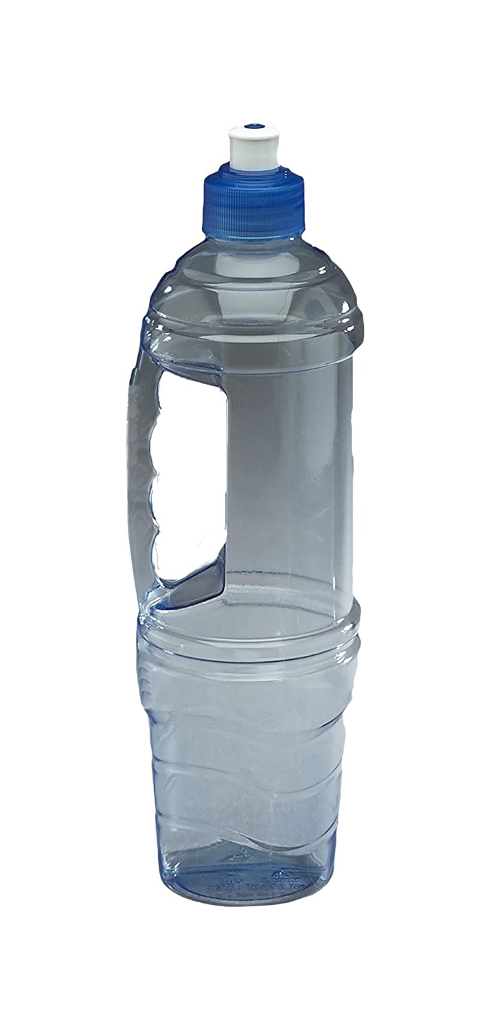 Arrow 1-Liter (33.9-Ounce) Clear BPA-Free Water Bottle Traveler Leak Proof