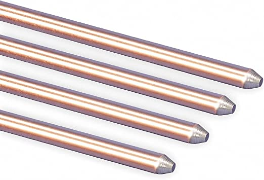 High Quality USA Made NEW! Copper Grounding Kit with Copper Rod /& Wire