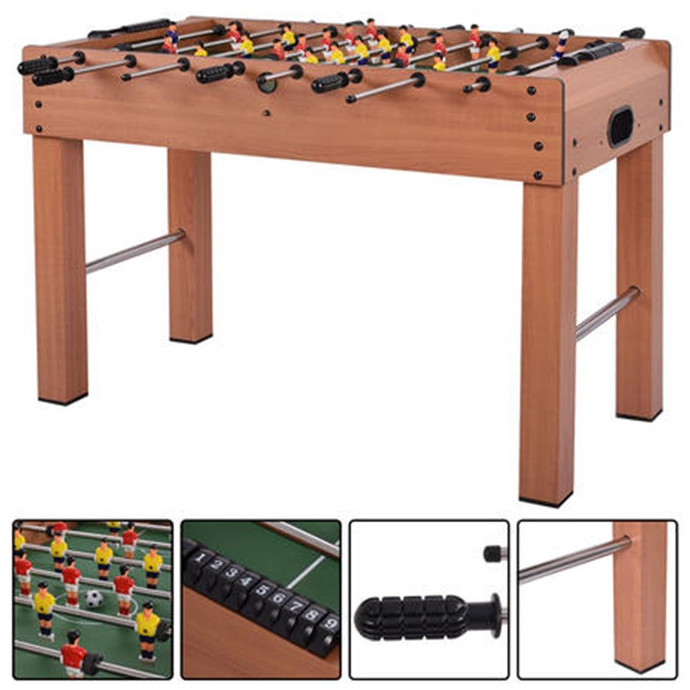 Goplus 48'' Foosball Table Competition Game Soccer Arcade Sized Football Sports Indoor