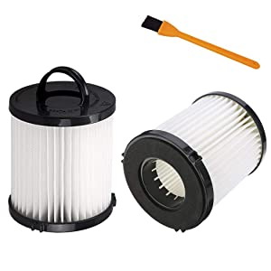 Hongfa Replacement Eureka DCF21 Vacuum Filter, 2 Pack Washable & Reusable Filters Compatible with Eureka DCF-21 for Parts 67821, 68931, 68931A, EF91, AS1000 AS1040 3270 3280 4230 4240 Series