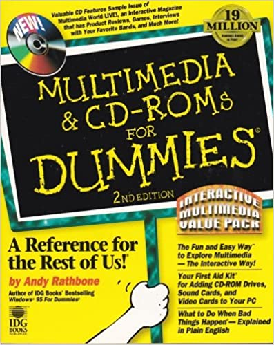 Multimedia & Cd-Roms for Dummies: Interactive Multimedia Value Pack
