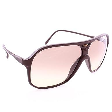 Retro Italian Aviator Sunglasses w Interchangeable Lenses   Soft Leather  Case - Brown 4b0f0bcfd521
