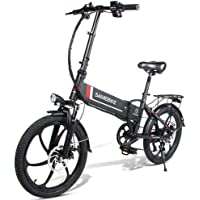 Fafrees Bicicleta Eléctrica Plegable Inteligente 48V 350W LCD Bicicleta Eléctrica Neumático…