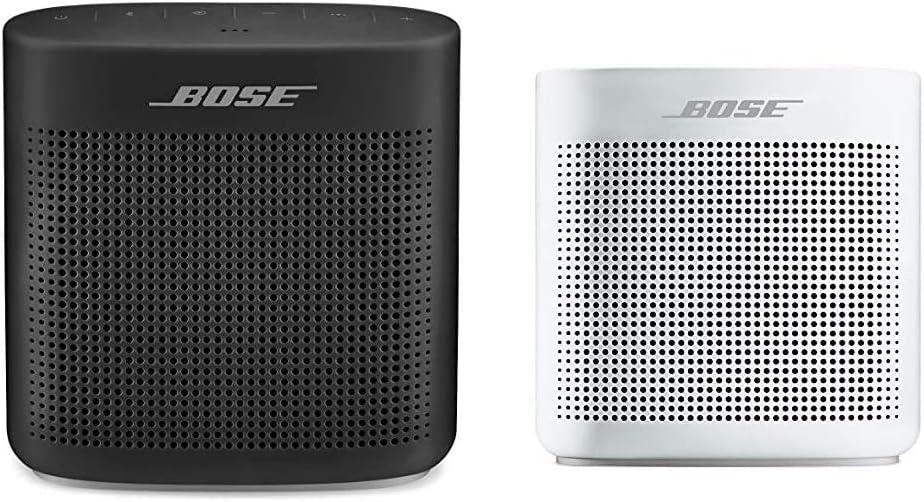 Bose SoundLink Color Bluetooth Speaker II - Soft Black & SoundLink Color Bluetooth Speaker II - Polar White