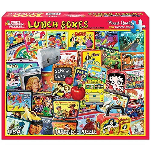 Weiß Mountain Puzzles - Classic Lunch Weiß Boxes - 1,000 Piece Jigsaw Puzzle by Weiß Lunch Mountain Puzzles 3dc237