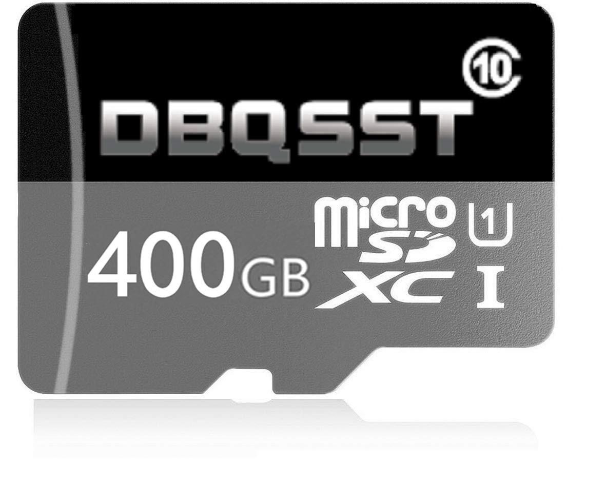 DBQSST 400GB High Speed Micro SD SDXC Class 10 Transfer Speeds Action Cameras, Phones, Tablets PCs