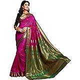 Craftsvilla Silk Saree with Blouse Piece (Sania Jacd_Pink_Pink_Free Size)