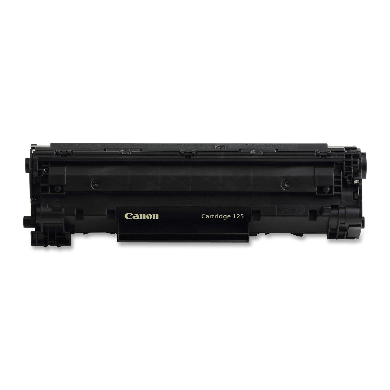 amazon com canon original 125 toner cartridge black office