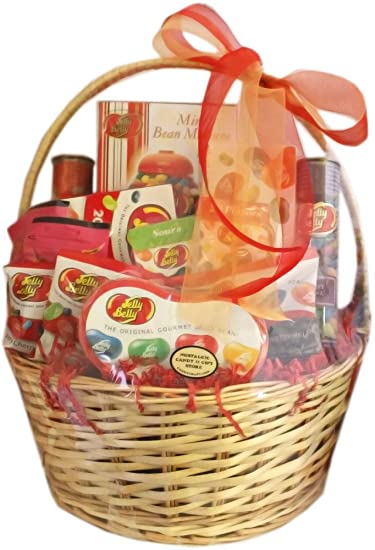 Image Unavailable. Image not available for. Color: Jelly Belly Gourmet Jelly Bean Gift Basket ...