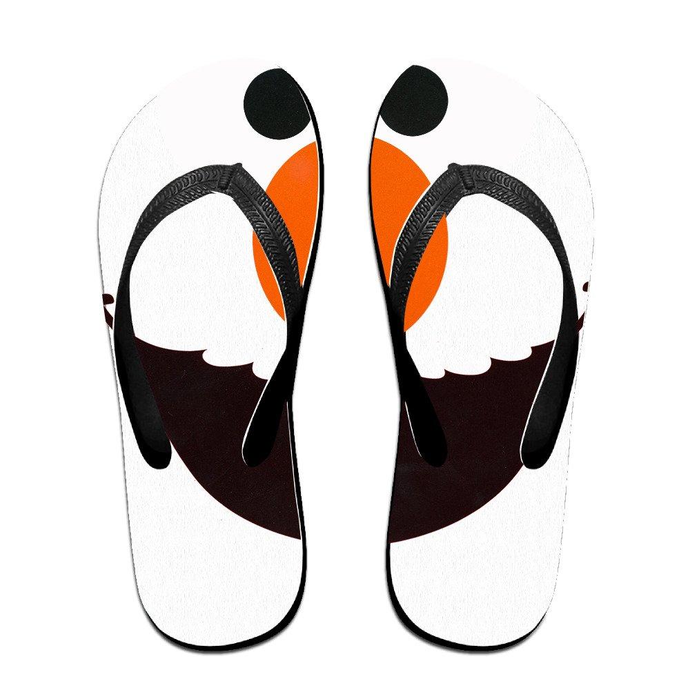 bdb2ea5d73deba 60%OFF Kakakaoo Custom Adult Elmo Face Flip Flops Sandals Black Size ...