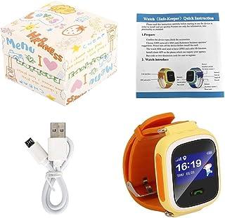 Tellaboull for Q60 Bambino Smartwatch Safe-Keeper Chiamata SOS Monitoraggio in Tempo Reale Monitoraggio in Tempo Reale per Bambini Posizione Stazione Base Controllo App