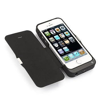 Funda bateria iphone 5 /5S/5C/SE,Mbuynow Funda Protectora Cargador con Batería 7000mah bateria externa para iphone 5 /5S/5C/SE