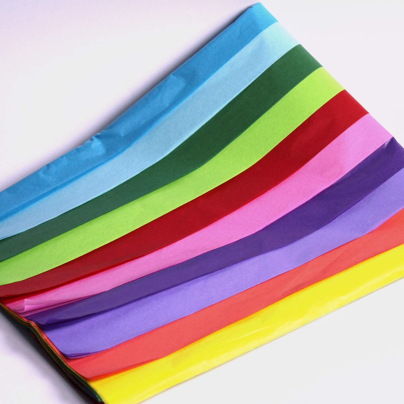 6 X Multi Coloured Tissue Paper//Gift Wrap//Wrapping Paper Sheets Pack of 50 20 x 30