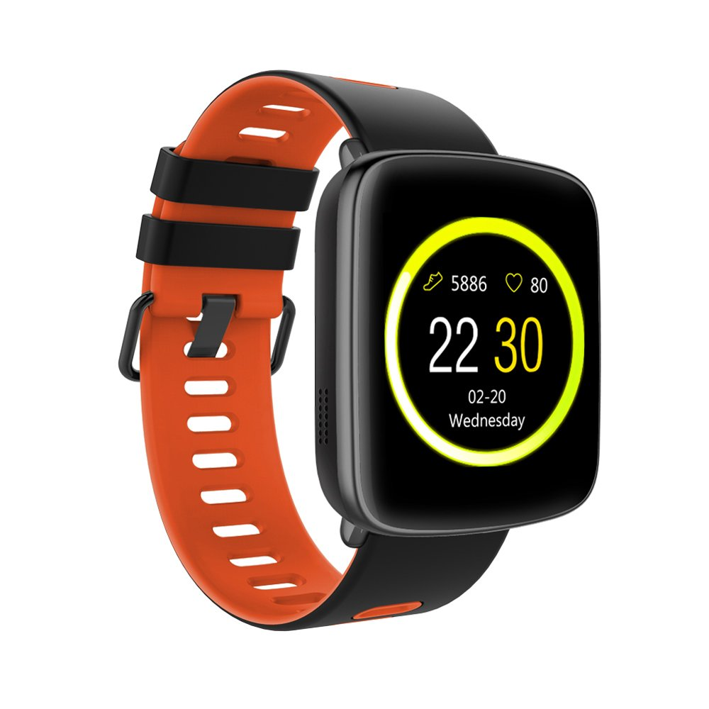 Amazon.com: TechComm Swimmer Waterproof Bluetooth Smart Watch Heart Rate Monitor: Cell Phones & Accessories
