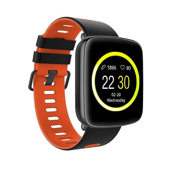 Amazon.com: TechComm Swimmer Waterproof Bluetooth Smart Watch Heart Rate Monitor: Cell Phones & Accessories