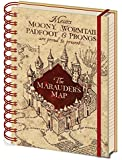 "Pyramid International A5 Harry Potter""The Marauders Map"" Notebook"