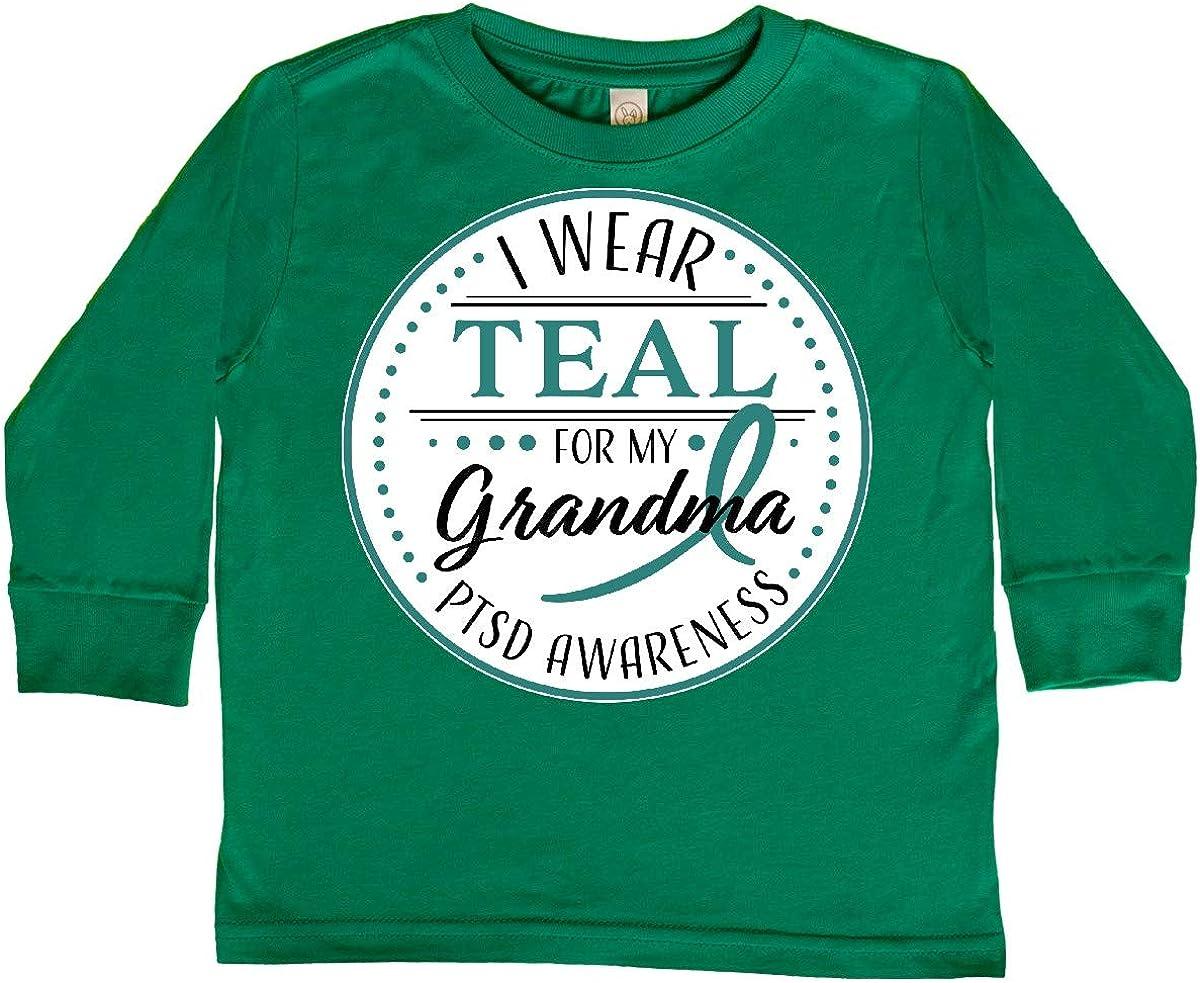 inktastic I Wear Teal for My Grandma PTSD Awareness Baby T-Shirt