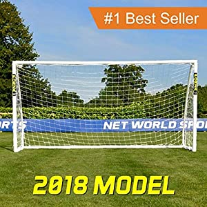 Net World Sports Forza Soccer Goal - The Ultimate Home Soccer Goal! Leave These Soccer Goals Up in All Weather Conditions. Forza Soccer Goals Can Take 1000s of Shots!